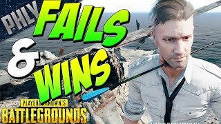 PUBG - Funny Moments FAILS & WINS  (PlayerUnknown\'s Battlegrounds Gameplay)