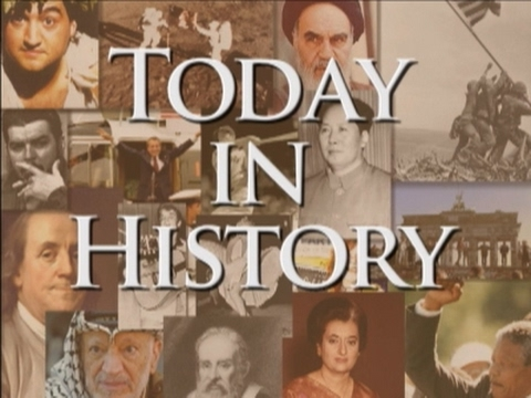 Today in History for April 30th