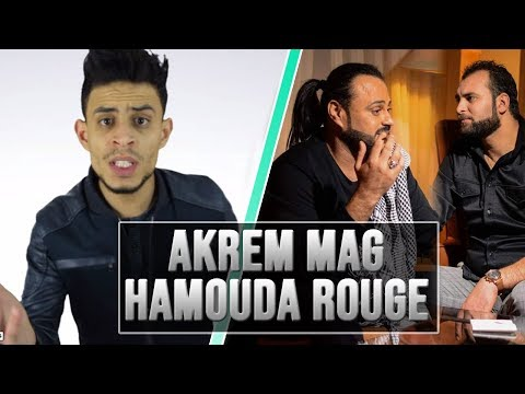 SALEM MR - AKREM MAG X HAMOUDA ROUGE 😂😂😂😂