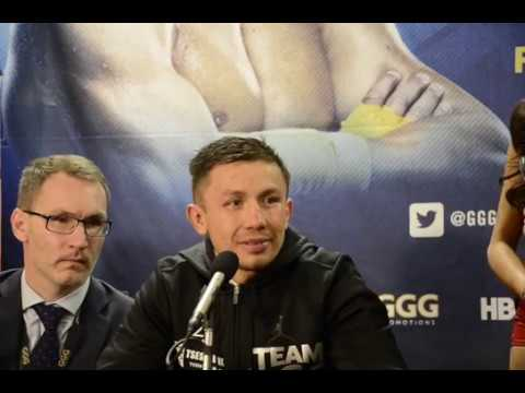 Gennady GGG Golovkin vs Daniel Jacobs POST FIGHT Press Conference from MSG Part 1
