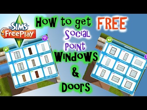 Sims Freeplay | Patio Glitch For Windows & Doors