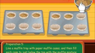 Кексы Тессы -  кулинарные игры