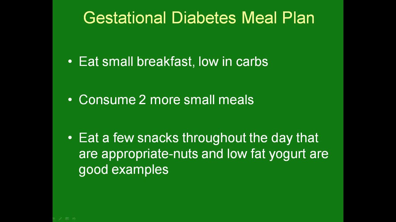 Treatment Of Gestational Diabetes Witht And Exercise
