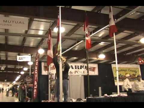 Raising and Lower a Titan Telescoping Flag Pole,  ontarioflagandpole@gmail com