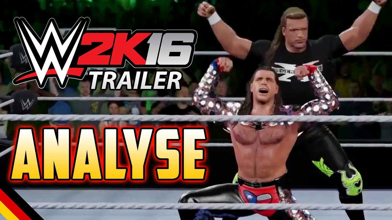 wwe 2k16 deutsch gameplay trailer analyse wwe 2k16 countdown news german youtube. Black Bedroom Furniture Sets. Home Design Ideas