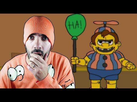 ¡NELSON Y SKINNER ME ODIAN! - Fun Times at Homer's *Custom Night* (FNAF FAN GAME)
