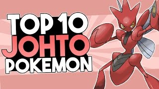 Top 10 Johto Pokémon
