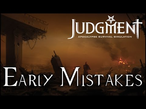 Judgment: Apocalypse Survival Simulation - Early Mistakes (Gameplay) |