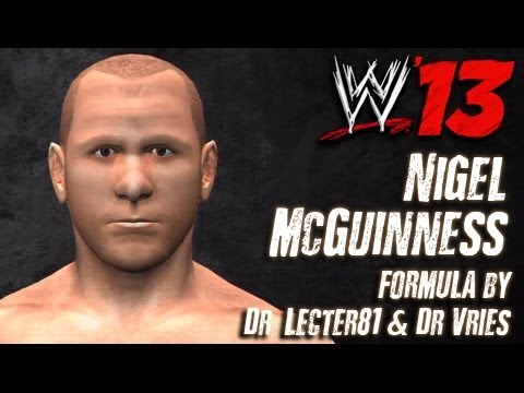 WWE '13 Nigel McGuinness CAW Formula By DrLecter81 & DrVries