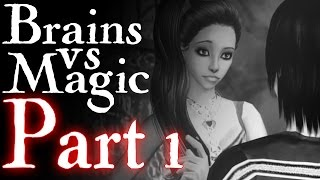 "Sims 2 Voice over - Saturday Nights ""Brains Vs. Magic""- Sims 2 Movie (Part 1)"