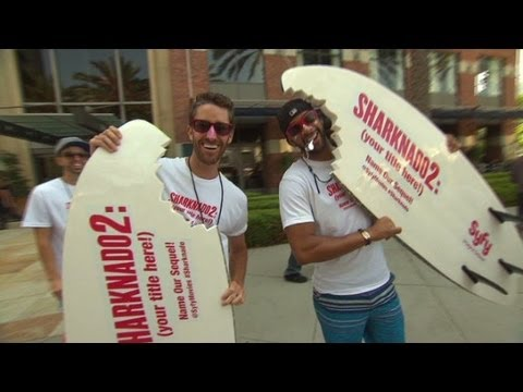 "Comic-Con: ""Sharknado"" director Anthony C. Ferrante"