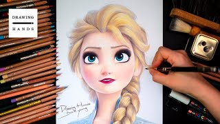 Drawing Frozen2_Elsa [Drawing Hands]