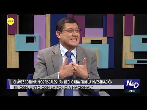 """Chávez Cotrina: """"La investigación de Becerril se encuentra en el despacho de la Fiscal de la Nación"""""""