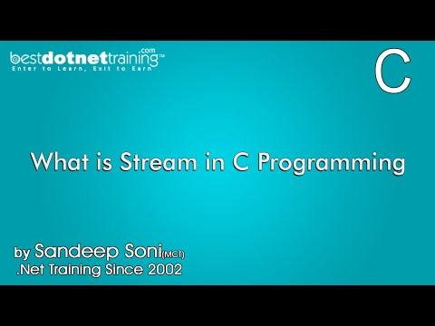 What Is Stream In C Programming | Bestdotnettraining.com