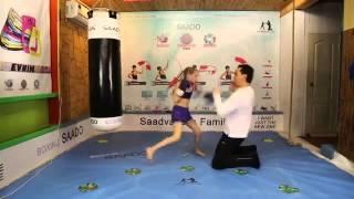 8 летней девочка в состоянии вызвать на бой Кличко