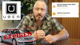 Does UBER Verify Vehicle Driver Documents?(shocking footage)