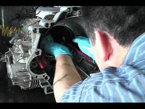 Stripping down an Audi Automatic Transmission for Repair in Tampa