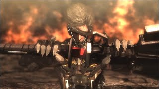 Metal Gear Rising: Revengeance - All Bosses with Cutscenes and Ending