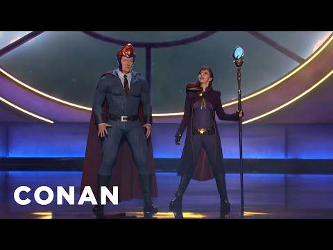 Conan&39;s Nemesis Kristen Schaal Invades ConanCon - CONAN on TBS