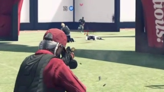GTA 5 Online - Run And Gun Deathmatch - GTA V Online Gameplay (PS4) #39