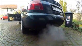 coldstart 2 and exhaust sound audi a4 b5 2 6 v6 quattro