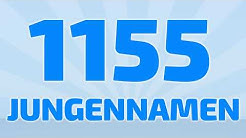 1155 beliebte und schöne Jungennamen