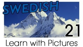 Learn Swedish Vocabulary with Pictures - Describing the World Around You
