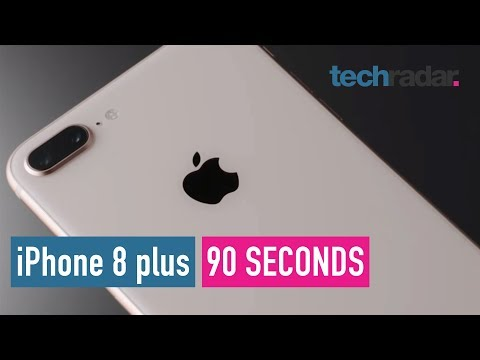 iPhone 8 plus in 90 seconds