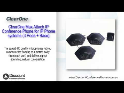 ClearOne Max Attach IP Video Overview