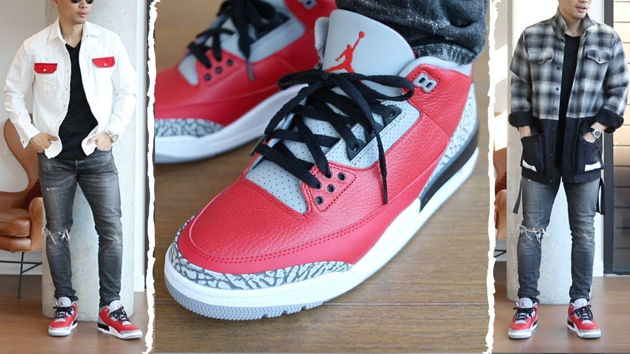 outfits to wear with red jordans