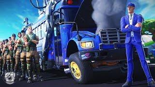 WHAT HAPPENS WHEN THE BATTLE BUS BREAKS DOWN... (A Fortnite Short Film)
