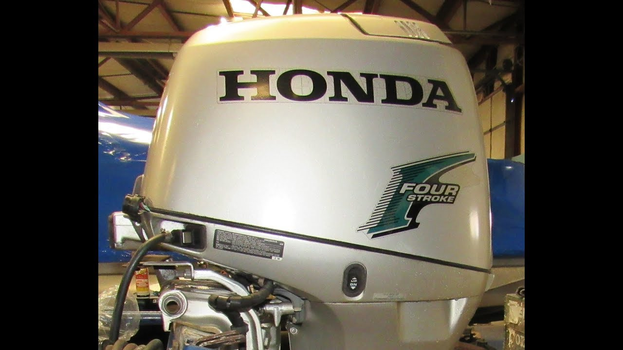 Used 2003 Honda 50HP Outboard BF50A3LRTA 20' Shaft 4 Stroke