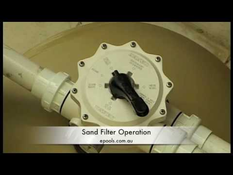 sand filter operation 2of2 youtube. Black Bedroom Furniture Sets. Home Design Ideas