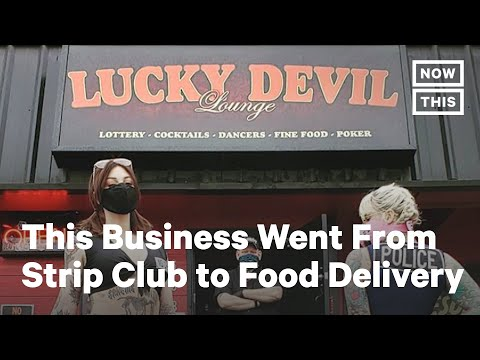 Strip Club Saves Staff From Unemployment With 'Boober Eats'  | NowThis