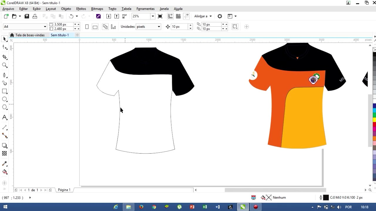Como Fazer Um Modelo De Camisa Rápido