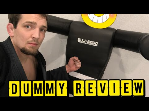 BJJ 9000 grappling dummy REVIEW