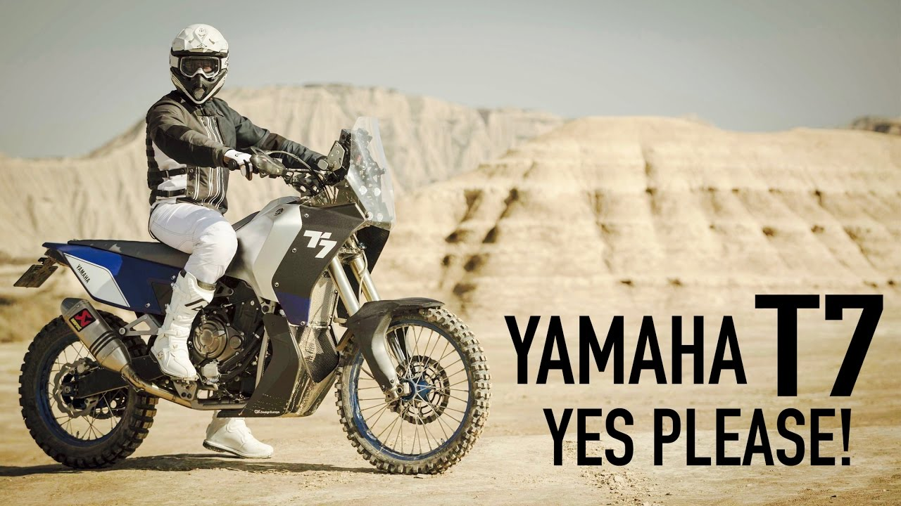 Yamaha T7 Concept First Look Motobanter 2 Youtube