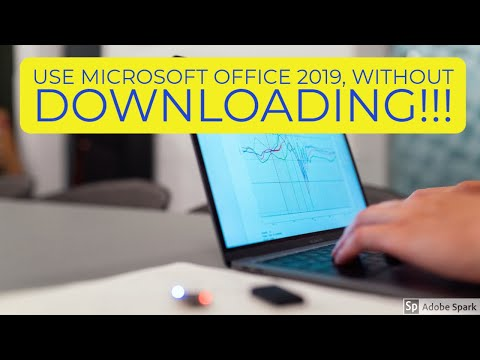 Get Microsoft Office 2019 In 2020 For Free, No Downloads At All Needed!  YES Free!!