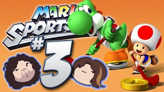Mario Sports Mix: Hockey! - PART 3 - Game Grumps VS