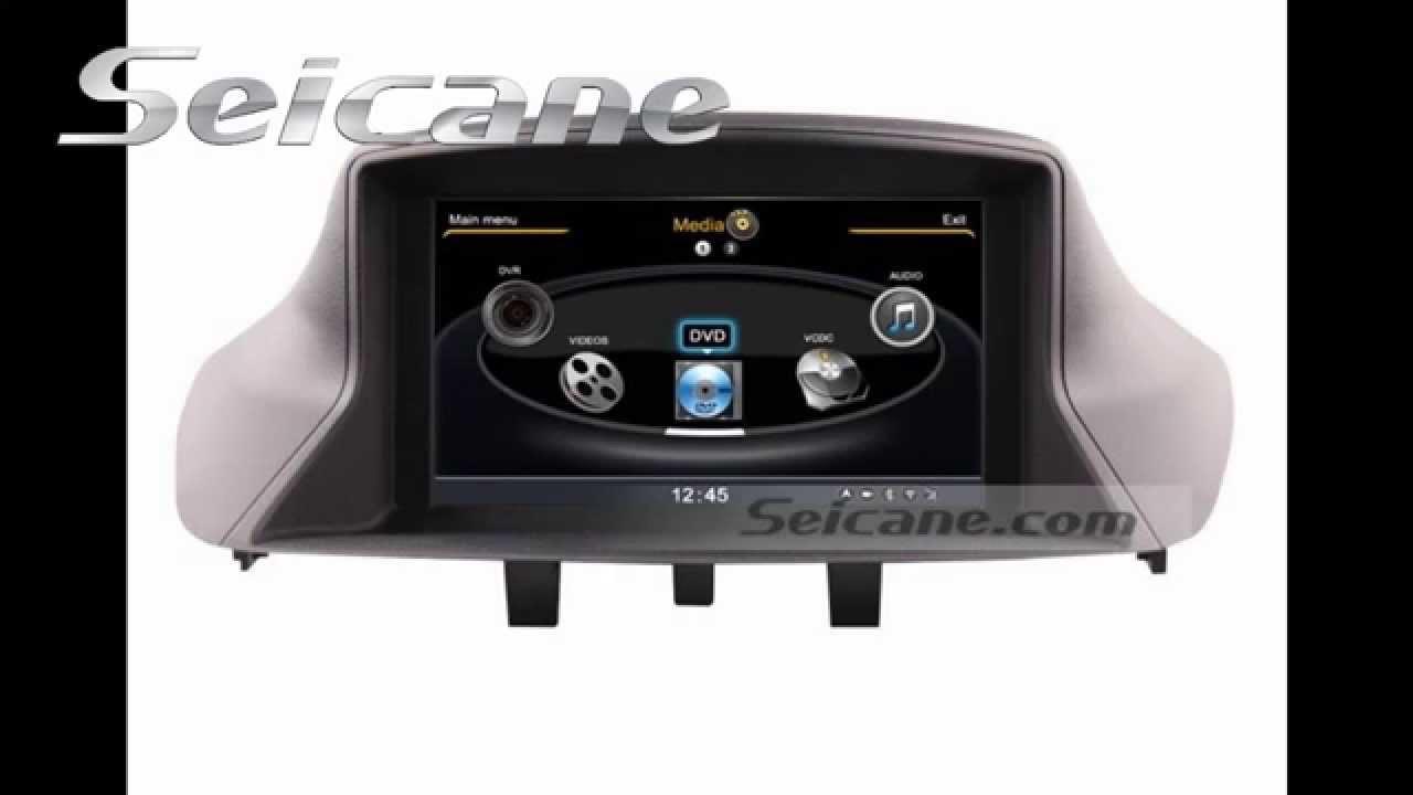 2010 2011 renault megane aftermarket radio navigation stereo support wifi av in out dvd. Black Bedroom Furniture Sets. Home Design Ideas