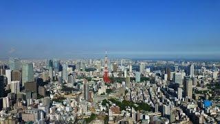 Roppongi Mori Tower Tokyo 360° rooftop view