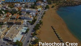 Aerial video of Paleochora in Southern Crete - JustGreece.com