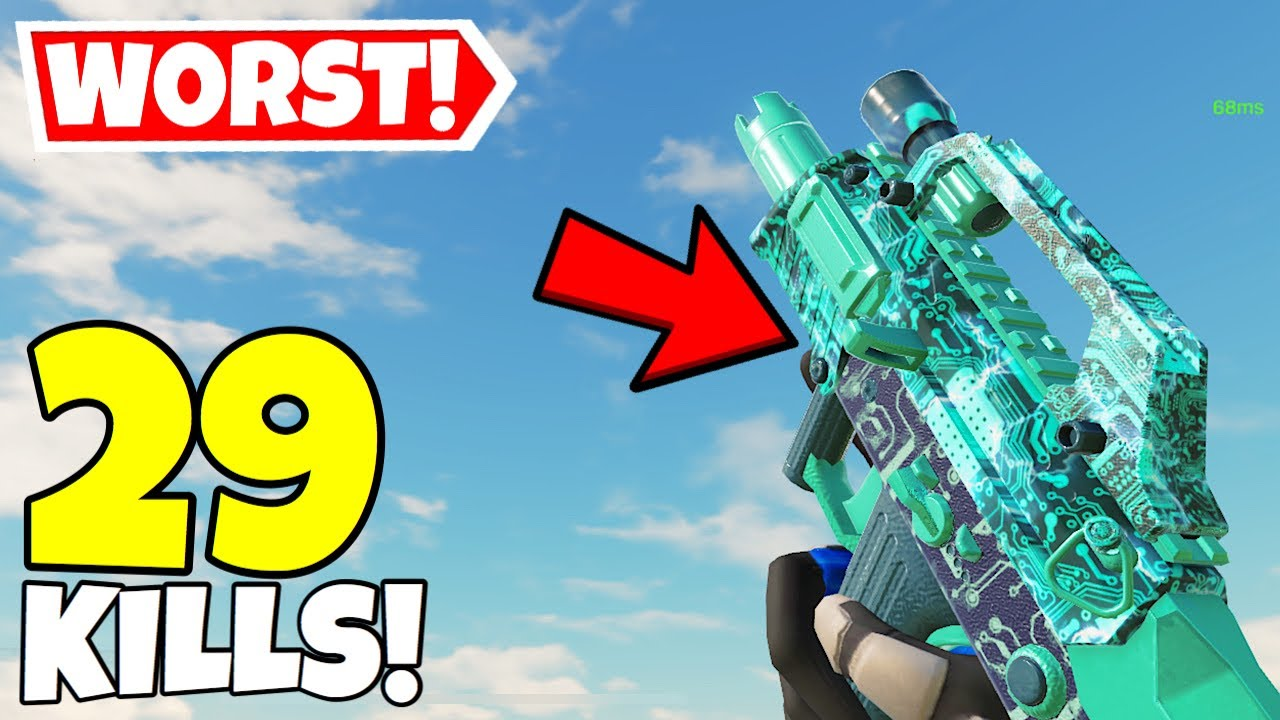 USING THE WORST SMG IN CALL OF DUTY MOBILE BATTLE ROYALE!