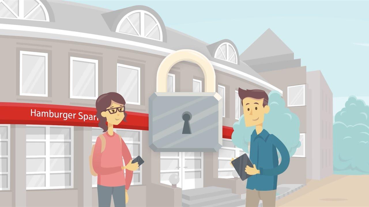 Haspa Online Banking Sicherheit - YouTube
