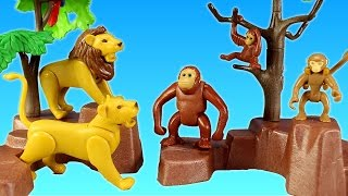 Playmobil City Zoo Toy Wild Animals Building Set Build Review