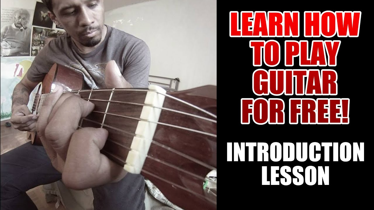Learn To Play Guitar - Free Guitar Lessons - Introduction ...
