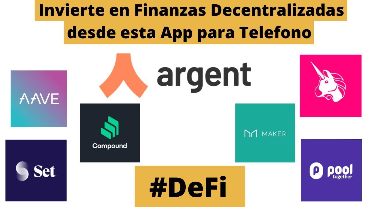 Invierte en DeFi desde esta App para tu Teléfono : Argent