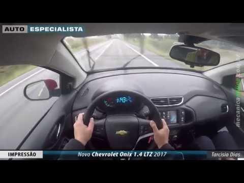 Novo Chevrolet Onix 1.4 LTZ 2017 - Impressões dinâmicas