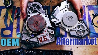 Why you should never buy a cheap aftermarket water pump...