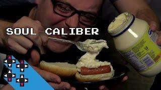 Soul Calibur Hot Dog Mayo Punishment With Giant Bomb's Dan Ryckert — Gamer Gauntlet